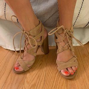 Sam Edelman Lace Up Sandals!